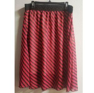LuLaRoe Lola Midi Skirt